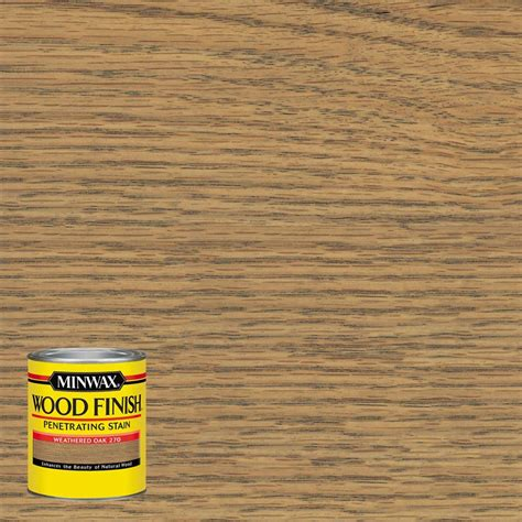 unfinished white oak flooring home depot minwax 8 oz wood finish weathered oak based interior