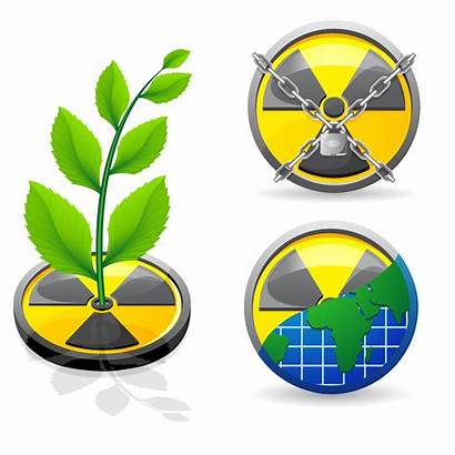 Radiation Vector Illustration Ecology Clipart Sign System