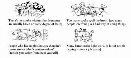 الأمثال باللغة الإنجليزية