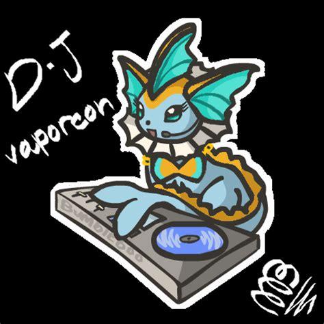d j vaporeon by bumbleboo12 on deviantart