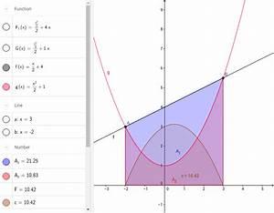 Fläche Zwischen Zwei Graphen Berechnen : fl che zwischen zwei graphen geogebra ~ Themetempest.com Abrechnung