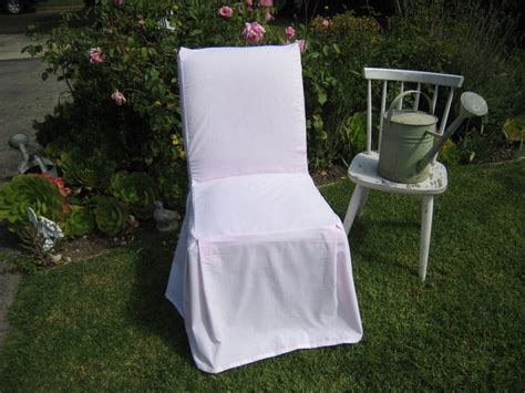 Parsons Chair Slipcovers Shabby Chic by Parsons Chair Slipcover Made With Shabby Chic Pink Linen