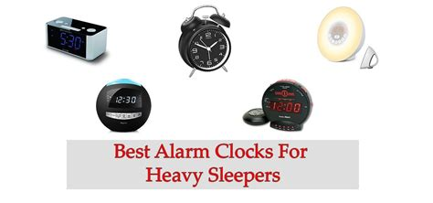 Best Alarm Clock Heavy Sleepers - top 10 best alarm clocks for heavy sleepers in 2019