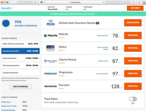 car insurance calculator find  cheapest quotes insurify