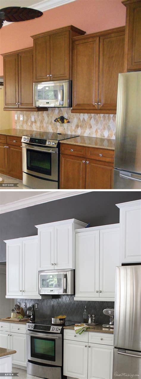 painted kitchen cabinets  tile backsplash  year  house mix