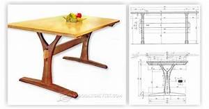 Dining Table Plans • WoodArchivist