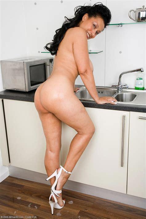 Busty Milf Danica Kitchen Fun Free Cougar Sex