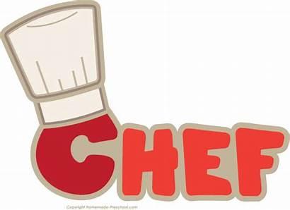 Chef Clipart Word Hat Clip Transparent Favorite