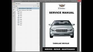 Cadillac Seville - Service Manual    Repair Manual