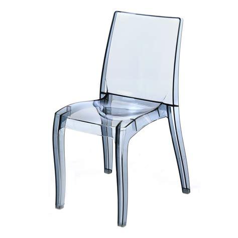 chaise en polycarbonate chaise polycarbonate transparente