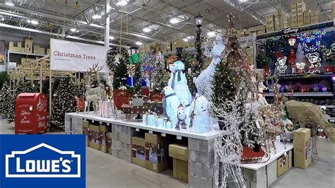 lowes home store christmas decorations 2018 at lowe s trees ornaments decorations home decor inflatables shopping
