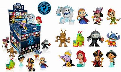 Villains Disney Heroes Mystery Minis Funko Mini