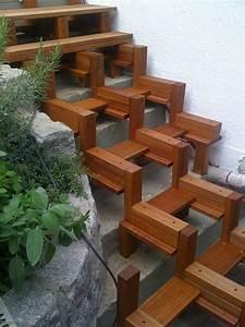 Holztreppe Selber Bauen : terrasse bauen treppe garten pinterest terrasse bauen terrasse und treppe ~ Frokenaadalensverden.com Haus und Dekorationen