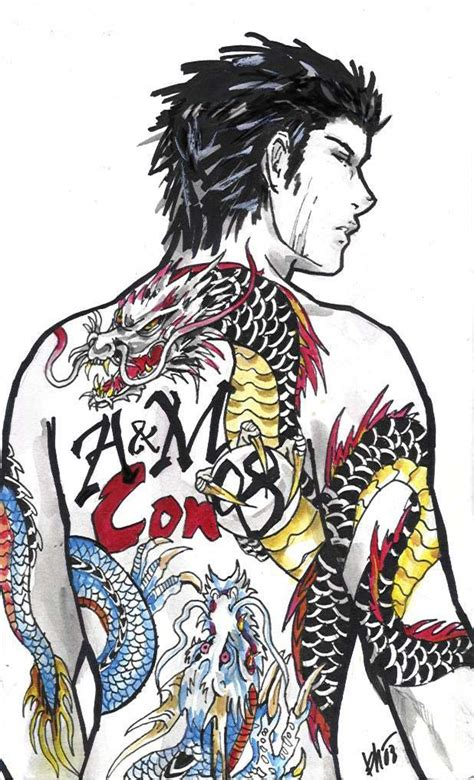 yakuza tattoo  milwa cz  deviantart