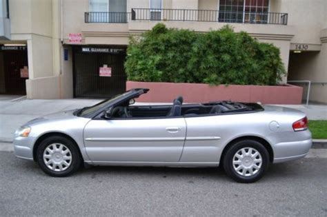 2005 Chrysler Sebring Gas Mileage by Find Used 2005 Chrysler Sebring Convertible Clean Title