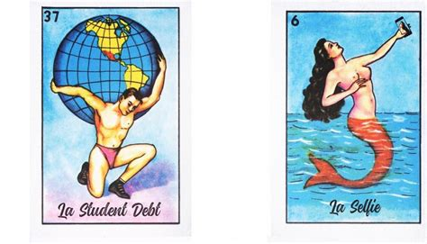 millennial loteria   nostalgically searching