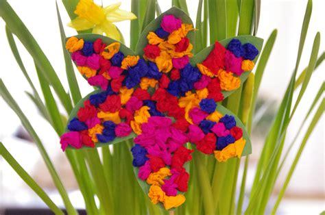Papierblumen Als Tischdeko Für Den Frühling Familie De