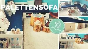 Couch Aus Paletten : paletten sofa palettensofa europaletten selber bauen diy anleitung youtube ~ Markanthonyermac.com Haus und Dekorationen
