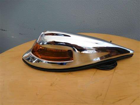 Motorcycle Front Fender Classic Lamp Light Old School Look
