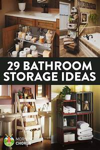 17 best ideas about space saving bathroom on pinterest With efficient small bathroom storage ideas
