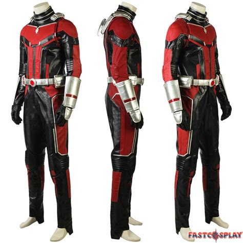 2018 Ant Man And The Wasp Ant Man Cosplay Costume Deluxe