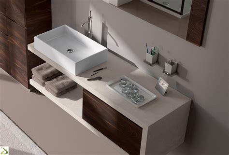 Lavabo Moderno Bagno Mobile Bagno Sospeso In Ecomalta Cosmo Arredo Design