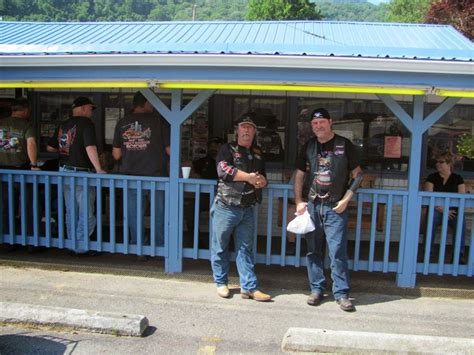 Skid And Sandy On The Road Bryson City North Carolina