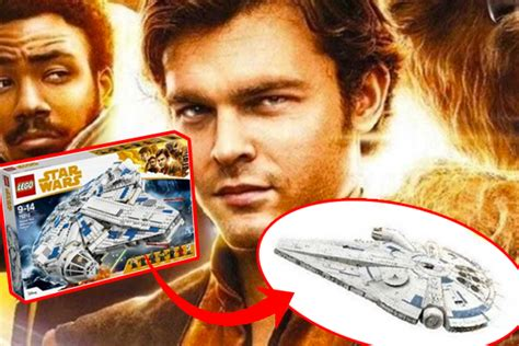Leaked Lego Kits Confirm New Millennium Falcon