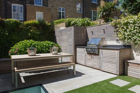 contemporary outdoor kitchen randle siddeley