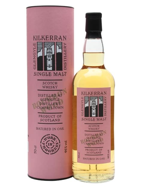 Kilkerran Work In Progress  Bourbon Wood S Tch Whisky