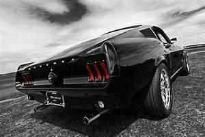 Black 1967 Mustang Photograph by Gill Billington