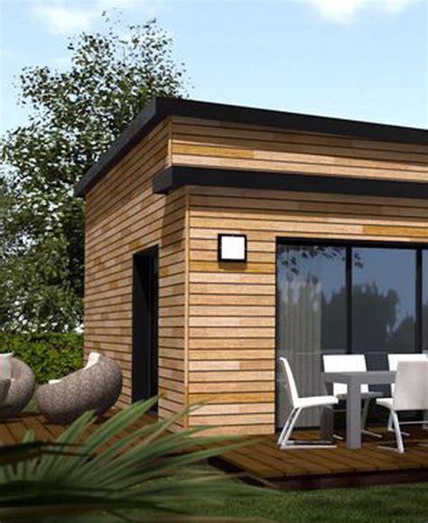 maison en kit moderne maison en bois moderne mzaol
