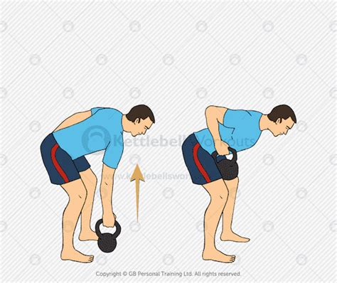 kettlebell row exercises exercise intermediate arm single workout regular follow workouts
