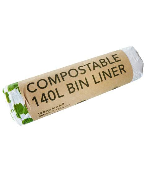 compostable wheelie bin liners ecobags insinc