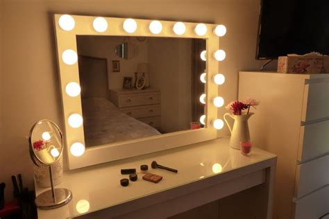 Vanity Lighted Mirrors - chende white lighted makeup vanity mirror review