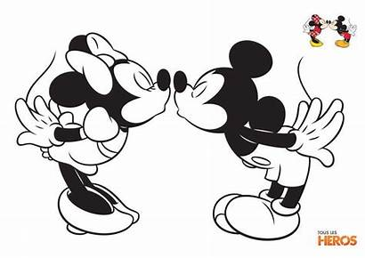 Minnie Mickey Et Coloriage Mouse Supercoloriage Coloring
