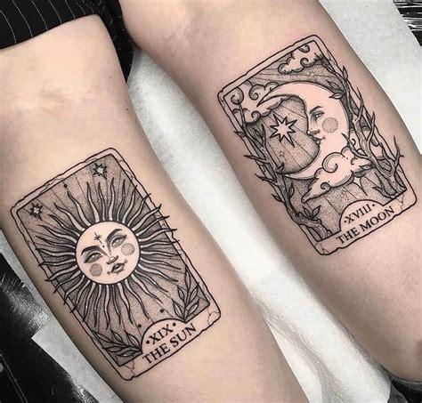 magical tarot card tattoo examples