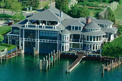 Boat House By The Bay by In Michigan The House That Boats Built Wsj House Of The