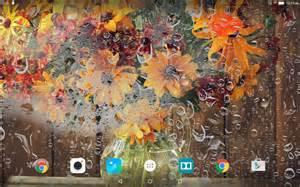Live Fall Flower Screensavers