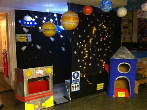 Outer Space Roleplay Classroom Display Photo  Photo Gallery  Sparklebox Universo