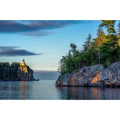 Wallpaper City of Split USA Lake Superior Great Lakes