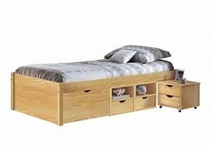 1 40 Mal 2 Meter Bett : jugendbett claas 90 x 200 kiefer massiv natur lackiert ~ Bigdaddyawards.com Haus und Dekorationen