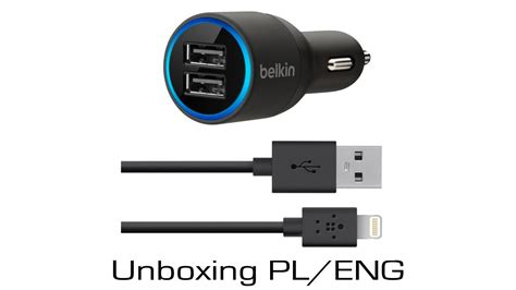 Belkin 2 Car Charger by Belkin 2 Car Charger Unboxing Pl Eng