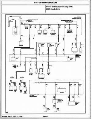 2002 Honda Civic Radio Wiring Diagram 41477 Verdetellus It