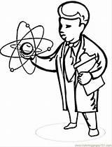 Colorir Desenhos Scientist Coloring Cientista Cientistas Imprimir Mad Cartoon Louco Colouring Imagens Maluco Comments Matematico sketch template