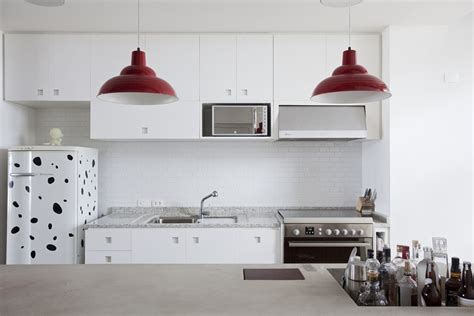 open kitchen designs in small apartments polished concrete apartment in brazil with wooden floor 9003
