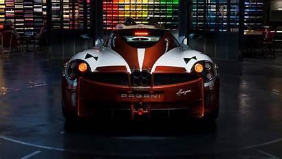 Pagani Huayra Lampo Wallpapers Rear 4k Cars