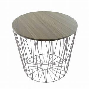 Drahtkorb Tisch Weiß : design drahtk rbe in 4 gr en drahtkorb tisch korb mit deckel grau ebay ~ Yasmunasinghe.com Haus und Dekorationen