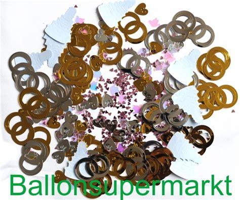 konfetti streudeko hochzeit hochzeitstorten herzen und ringe