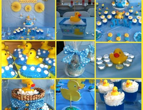 duck decorations for baby shower rubber duckies baby shower quot cindy s rubber duckie babyshower quot catch my party